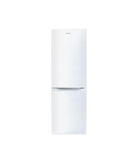Candy Refrigerator CMCL 4142W A+, Free standing, Combi, Height 144 cm, Fridge net capacity 109 L, Freezer net capacity 48 L, 38