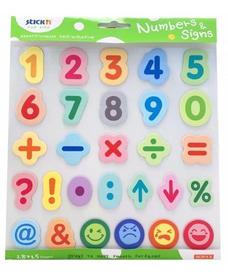 Lipnių skaičių ir simbolių rinkinys STICK´N
