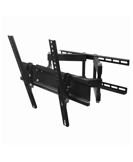 "Gembird Wall mount, WM-55RT-03, 26-55 "", Turn, Tilt, Maximum weight (capacity) 50 kg, VESA 400x400 mm, Black"