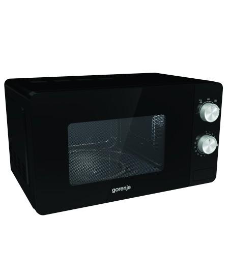 Gorenje Microwave oven MO20E1B Free standing, 20 L, 800 W, Black