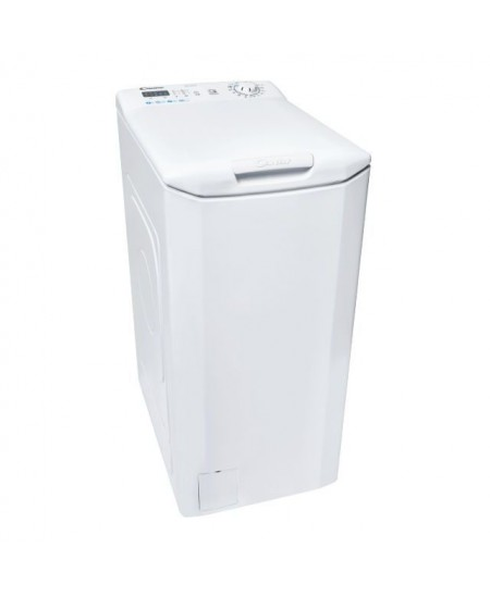 Candy Washing machine CST 27LE/1-S Top loading, Washing capacity 7 kg, 1200 RPM, A+++, Depth 60 cm, Width 40.5 cm, White, LED, N