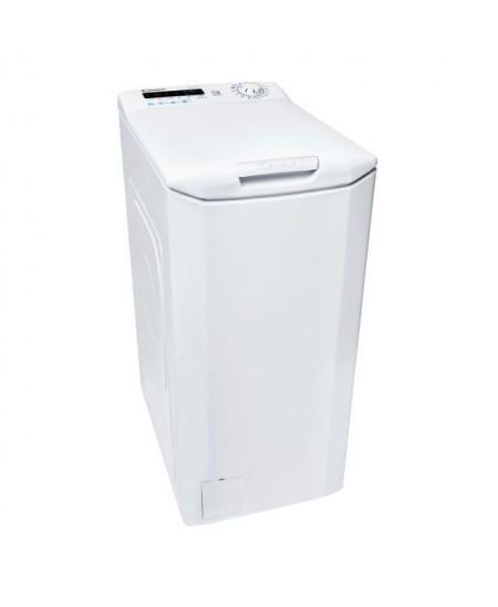 Candy Washing machine CSTG 282DE/1-S Top loading, Washing capacity 8 kg, 1200 RPM, A+++, Depth 60 cm, Width 40.5 cm, White, NFC