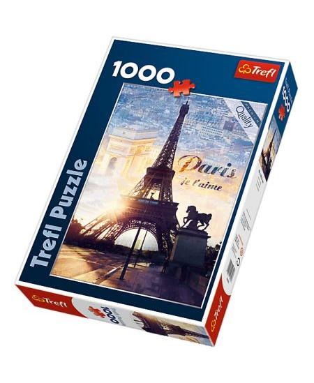 """TR 1000 det. dėlionė """"Paryžius"""""""
