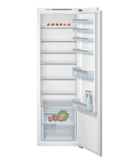 Bosch Refrigerator KIR81VFF0 A++, Built-in, Larder, Height 82 cm, Fridge net capacity 319 L, 37 dB, White