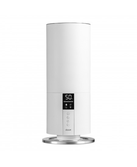 Duux Beam Mini Smart Humidifier DXHU07 20 W, Water tank capacity 3 L, Ultrasonic, Humidification capacity 300 ml/hr, White, 30 m