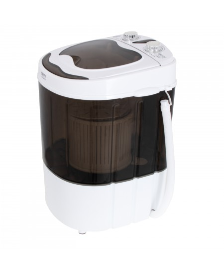 Camry Mini washing machine CR 8054 Top loading, Washing capacity 3 kg, Depth 37 cm, Width 36 cm, White/Gray, Semi-automatic