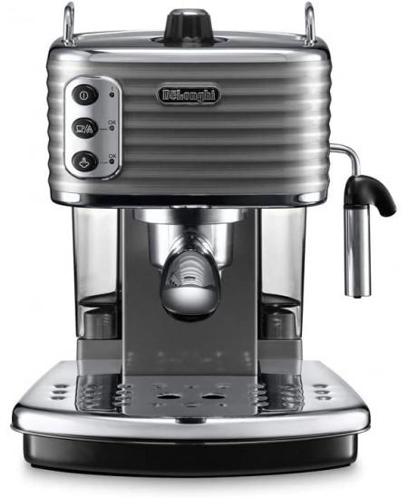 Delonghi Scultura Coffee maker ECZ351.GY Pump pressure 15 bar, Built-in milk frother, Semi-automatic, 1100 W, Grey