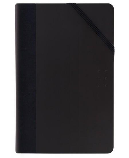 Užrašų knygelė MILAN, juoda