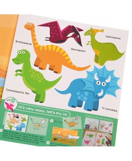"""Kūrybinis Oliver rinkinys """"Dinozauro paieškos"""""""