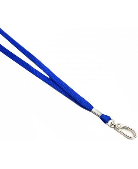 Tekstilinis dirželis su karabinu, mėlynas, 1vnt.