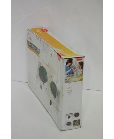 SALE OUT. ETA Hob ETA311990010 Number of burners/cooking zones 2, Mechanical control, Inox, DAMAGED PACKAGING, USED AS DEMO, Ele