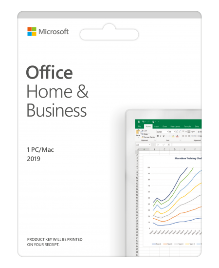 Microsoft Office Home and Business 2019 T5D-03317 One-time purchase, Lithuanian, Medialess, P6