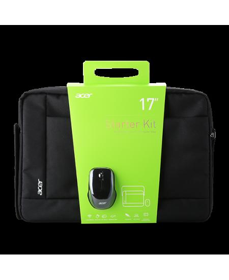 """Acer Notebook Starter Kit Black, Shoulder strap, Messenger - Briefcase, 17.3 """""""