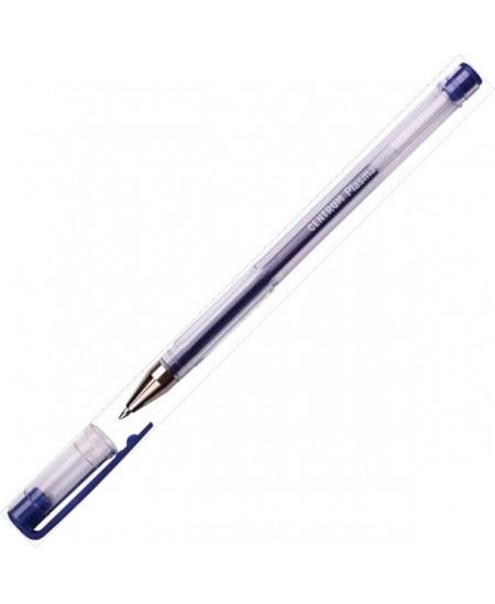 Gelinis rašiklis CENTRUM, 0.7 mm, mėlynas