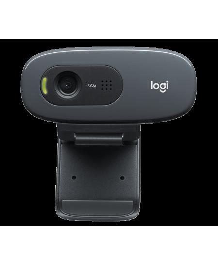 Logitech HD Webcam C270 Black, USB 2.0