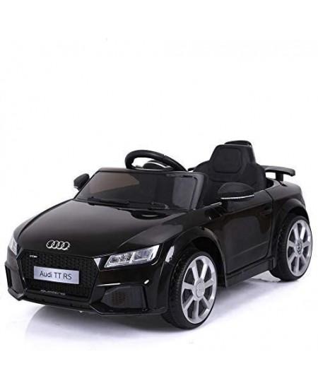 Elektromobilis vaikams AUDI TT RS 12V, juodas