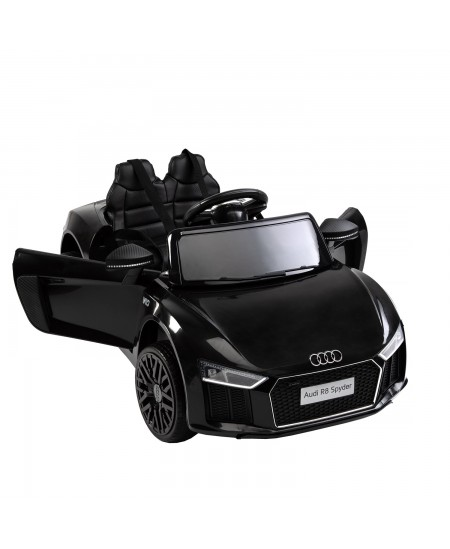 Elektromobilis vaikams AUDI R8, juodas