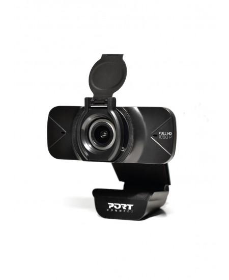 PORT DESIGNS Port Design FHD Webcam, 1080p, 30fps