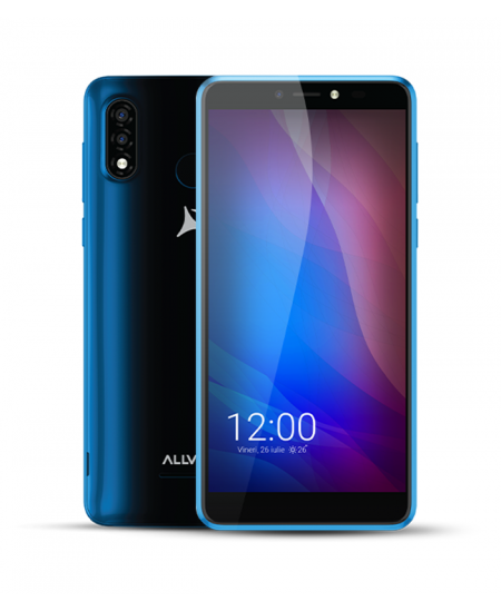 "Allview A20 Lite Blue, 5.7 "", Multitouch capacitive touchscreen, 2.5D, 480 x 960, Cortex-A7 Quad-core, Internal RAM 1 GB, 1"
