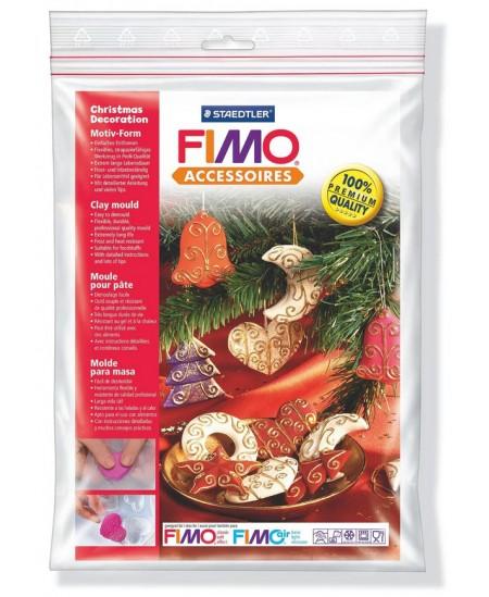 """Plastikinė forma FIMO """"Kalėdų dekoracijos"""""""
