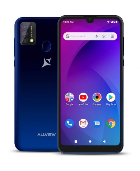 """Allview A20 Max Blue, 6.25 """", 1014 x 480, Cortex-A7 Quad-core, Internal RAM 1 GB, 16 GB, Micro SD, Dual SIM, Micro SIM, 3G,"""