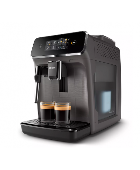 Philips Espresso Coffee Maker EP2224/10 Pump pressure 15 bar, Built-in milk frother, Fully automatic, Kashmir Gray