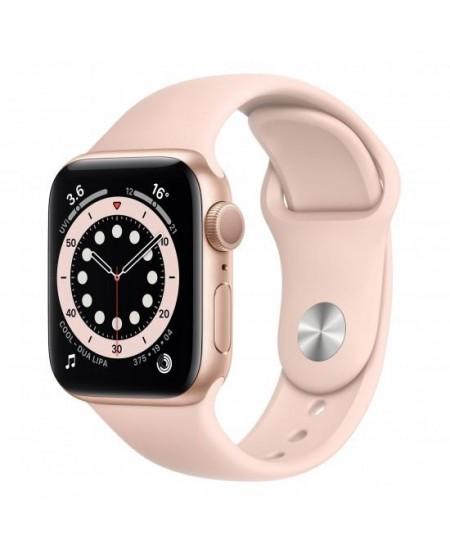 Apple Aluminium Case with Sport Band - Regular LT Series 6 GPS Smart watch, GPS (satellite), LTPO OLED Retina, Touchscreen, Hear