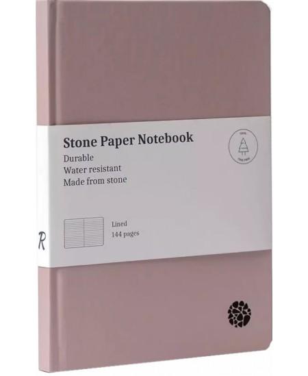 Užrašų knygutė ROCA, A5, linijomis, kietu viršeliu, rožinė