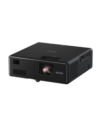 Epson 3LCD Projector EF‑11 Full HD (1920x1080), 1000 ANSI lumens, Black