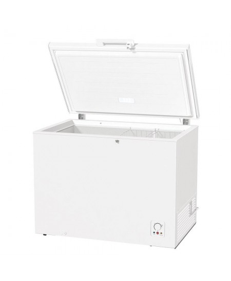 Gorenje Freezer FH301CW A+, Chest, Free standing, Height 85 cm, Total net capacity 303 L, No Frost system, White