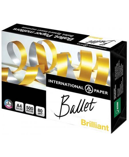 Popierius BALLET BRILIANT Universal, 80 g/m2, A4, 500 lapų