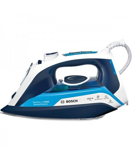 Bosch Steam Iron TDA5024210 2400 W, Water tank capacity 350 ml, Continuous steam 40 g/min, Steam boost performance 180 g/min, Bl
