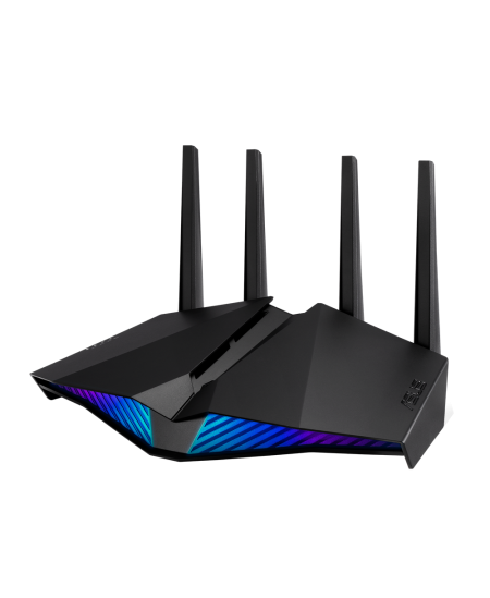 Asus AX5400 Dual Band WiFi 6 Gaming Router RT-AX82U 802.11ax, 10/100/1000 Mbit/s, Ethernet LAN (RJ-45) ports 4, Antenna type 4xE