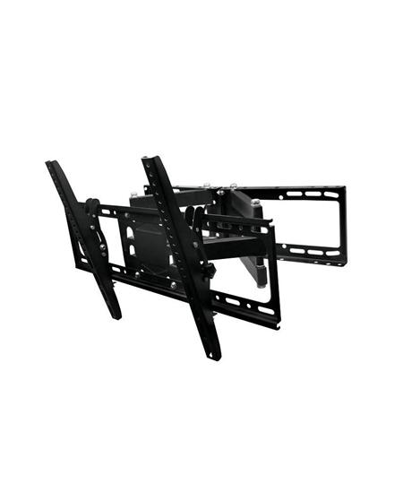 "Gembird Wall mount, WM-80RT-01, Turn, Tilt, 32-80 "", Maximum weight (capacity) 50 kg, VESA 600x400 mm, Black"