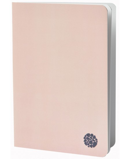 Užrašų knygutė ROCA, A5, minkštu viršeliu, rožinė