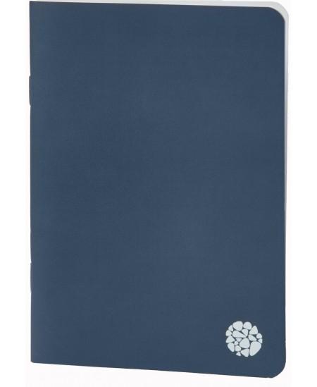 Užrašų knygutė ROCA, A5, minkštu viršeliu, mėlyna