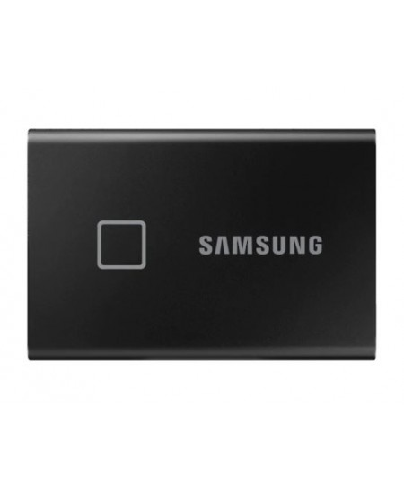 Samsung Portable SSD T7 1000 GB, USB 3.2, Black, with fingerprint and password security