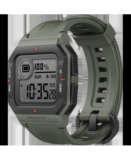 Amazfit Neo Smart watch, STN, Heart rate monitor, Activity monitoring 24/7, Waterproof, Bluetooth, Green