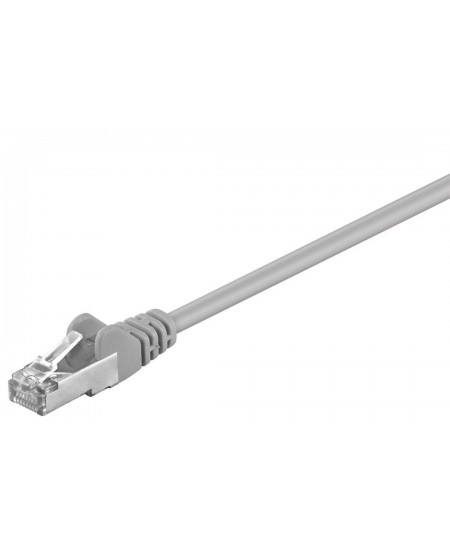 Goobay 50131 CAT 5e patchcable, F/UTP, grey, 7.5 m