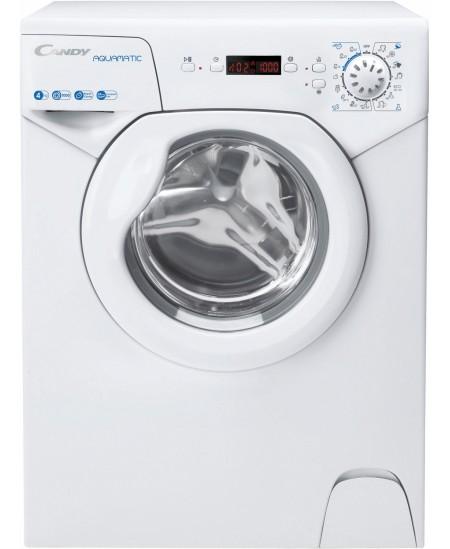 Candy Washing Machine AQUA 1042DE/2-S A+, Front loading, Washing capacity 4 kg, 1000 RPM, Depth 43.5 cm, Width 51 cm, Display, L