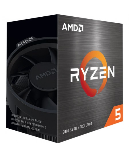 AMD Ryzen 5 5600X, 3.7 GHz, AM4, Processor threads 12, Packing Retail, Processor cores 6, Yes, Component for PC