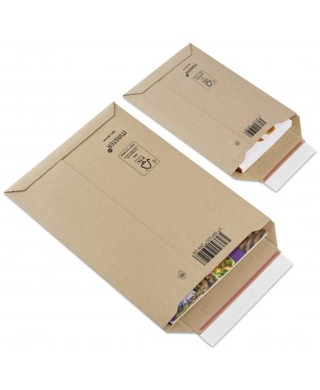 Gofruoto kartono vokas 330X490 mm, A3, rudos spalvos, 1 vnt.