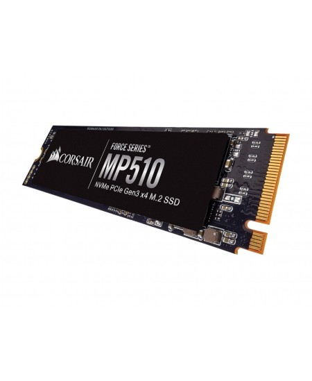 Corsair Force Series SSD MP510 240 GB, SSD form factor M.2 2280, SSD interface PCIe NVMe Gen 3.0 x 4, Write speed 1050 MB/s, Rea