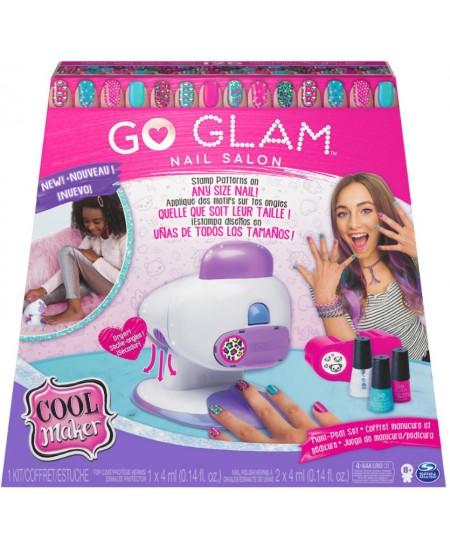 """Vaikiška nagų dekoravimo lempa - aparatas COOL MAKER \""""Go Glam\"""""""