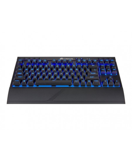 CORSAIR K63 Mechanical Gaming Keyboard, Red Switch, NA Layout, Wireless, Blue/Black