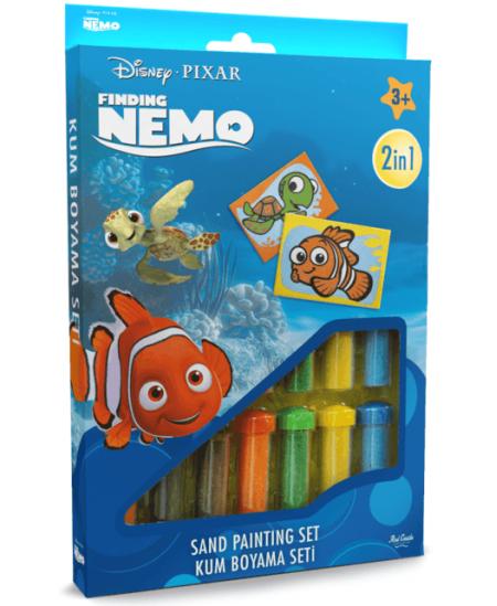 """Piešimo smėliu rinkinys \""""Žuvytė Nemo\"""""""
