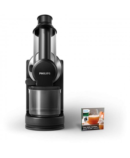 Philips Viva Collection Juicer HR1889/70 Type Slow juicer, Black, 150 W