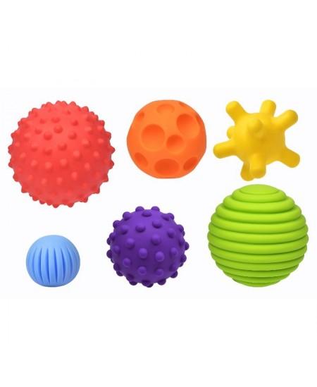 Lavinamųjų sensorinių kamuoliukų rinkinys Fancy Baby