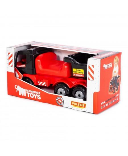 Paspiriamas automobilis MAMMOET su bagažine (dėžėje)