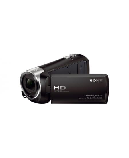 "Sony HDR-CX240E 1920 x 1080 pixels, Digital zoom 320 x, Black, LCD, Image stabilizer, BIONZ, Optical zoom 27 x, 6.86 "", HDM"